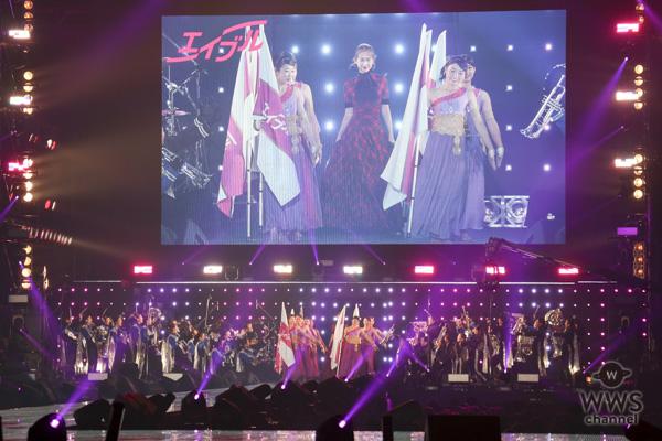 紗栄子と8歳の天才ドラマーよよかが「TGC2018 A/W」で、マーチングバンドとファッションショーのコラボレーションを展開!<東京ガールズコレクション 2018 AUTUMN/WINTER>