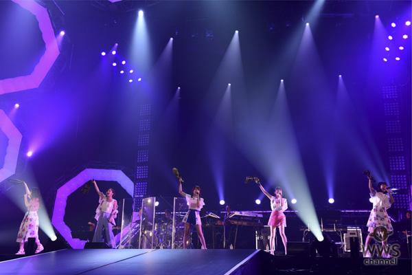 【ライブレポート】Little Glee Monsterが堂々のアカペラを披露!キュートなダンスと高い歌唱力で観客を魅了!<テレビ朝日ドリームフェスティバル2018>