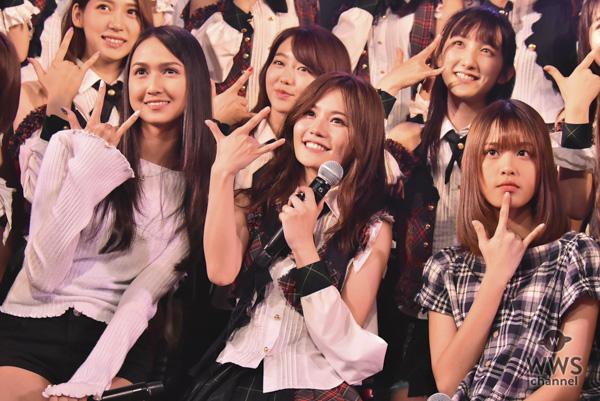 海外48グループ交換留学生らが込山榛香の生誕祭を祝福!AKB48劇場で『RESET』公演を見学!!