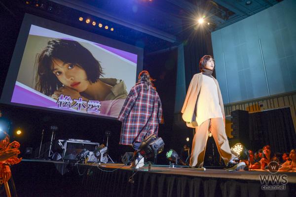 アンジェリカ、松本愛らがUEMOステージに出演し可憐にランウエイ!!<TiARY TV Fes!! Powered by Tokyo Street Collection>