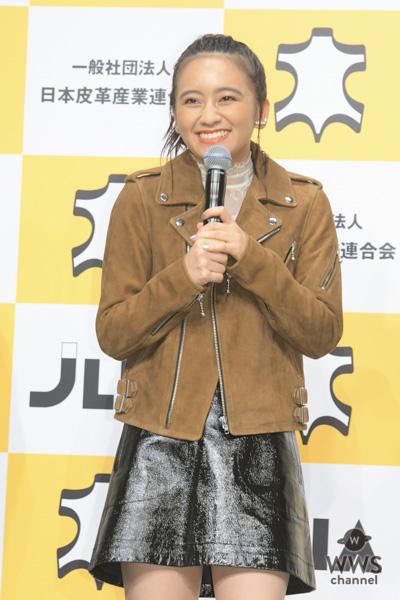 岡田結実が「ベストレザーニスト2018」を受賞!「自分を磨いていけば輝くような人になりたい」!!