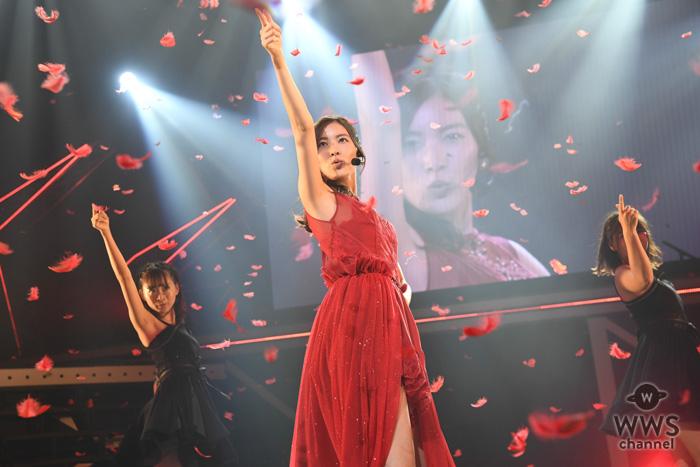 松井珠理奈・リクアワにサプライズ出演!ソロ曲『赤いピンヒールとプロフェッサー』でSKE復活のステージ!<SKE48 リクエストアワー セットリストベスト100 2018>