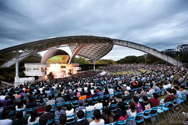 エビ中、全編生バンド演奏での野外ワンマンコンサート『ちゅうおん』大盛況!