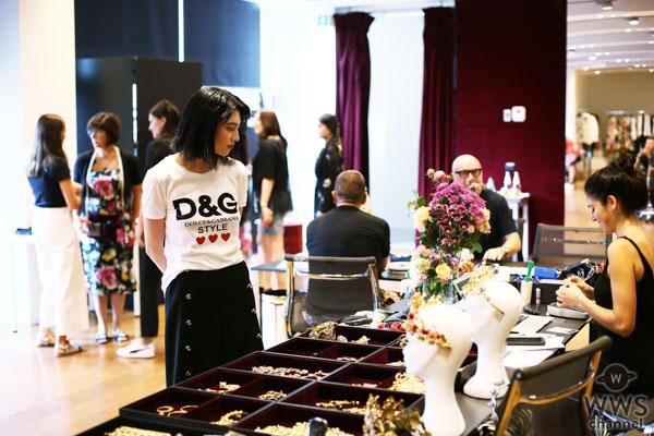 三吉彩花、海外コレクションで初ランウェイ!「DOLCE&GABBANA」のファッションショーに参加!!