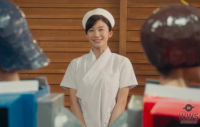 またしてもドラマ「銀魂2」にサプライズゲストが登場!グラビアアイドル小倉優香がファン悶絶のナース姿で出演!