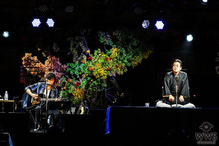 「平安神宮月夜の宴 ROOTS66 京の二人会 斉藤和義×立川談春」に3500人の観客が集結!