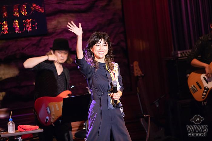 島谷ひとみ、デビュー20周年ライブにてニューアルバム発売&ツアーを発表!!
