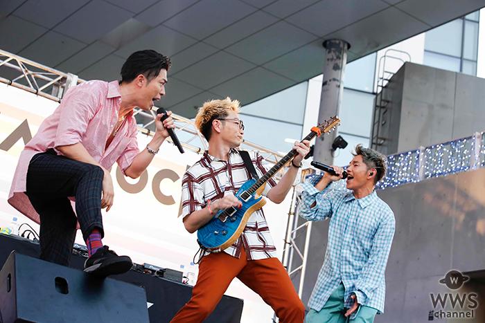 Sonar Pocket、メジャーデビュー10周年を祝い、3000人のファンの前で熱唱!!