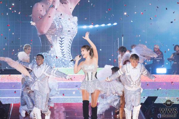浜崎あゆみ、20周年記念ツアーファイナル公演の模様を9/23(日)にWOWOWで独占放送!