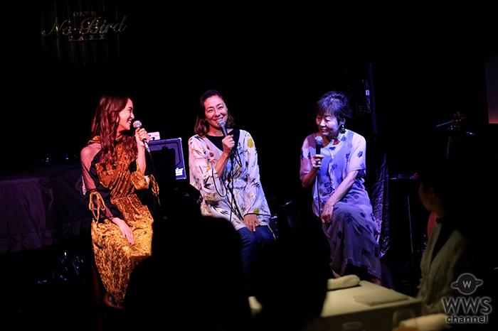 映画『食べる女』公開直前イベントをLeolaの歌声が華やかに彩る!企画&脚本・原作筒井ともみ、Leola、スペシャルゲストRIKACOが女性の「食」・「美」・「恋愛」を語りつくす!