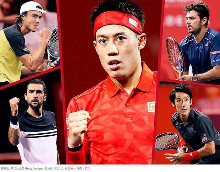 錦織圭をはじめ、ダニエル太郎ら日本人選手の活躍に注目!国内で行なわれる唯一の男子テニスATPツアー『楽天ジャパンオープンテニス』を、10/1(月)からWOWOWで連日生中継!
