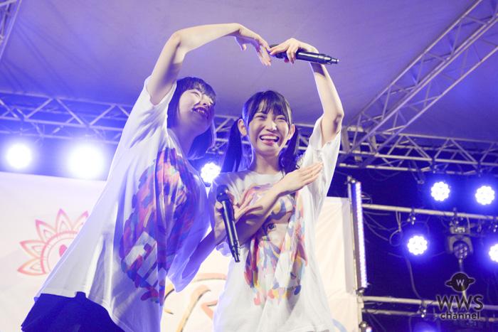 【ライブレポート】ナナランドが海辺のステージを「うりゃほい」祭りの大魔法で熱狂的パフォーマンス!!