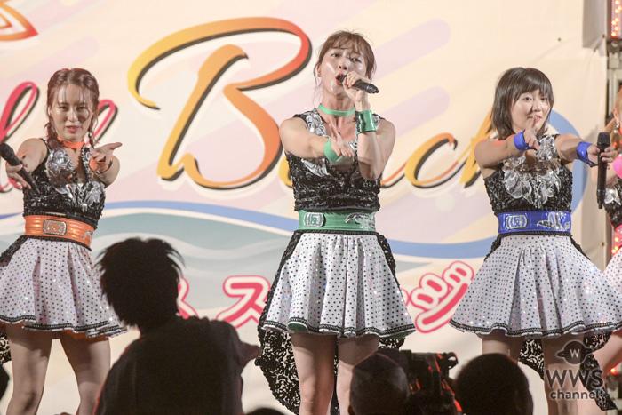【ライブレポート】アップアップガールズ(仮)が「OISOアイドルビーチ2018」の大トリを飾る!終始ブチ上がったライブに熱狂ファイヤー!!