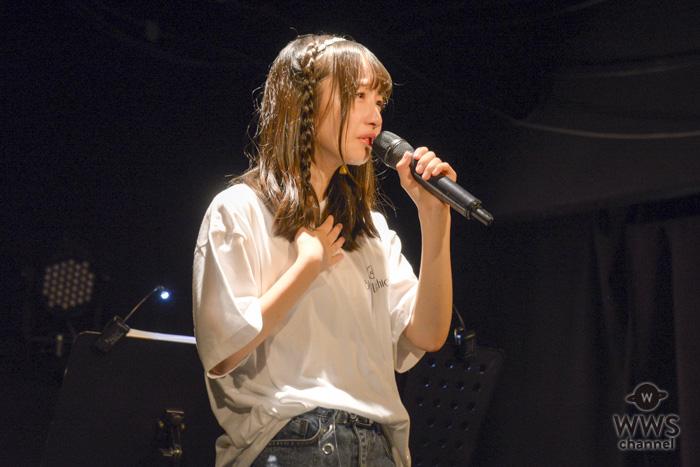 【ライブレポート】内田珠鈴、井上苑子と選んだギターで『花火』弾き語り!12月には4thワンマンも決定!!