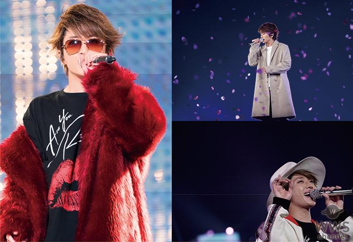 Nissyの東京ドーム公演がいよいよ10月20日にWOWOWで放送決定!放送に先駆けて放送予定楽曲の一部を公開!!