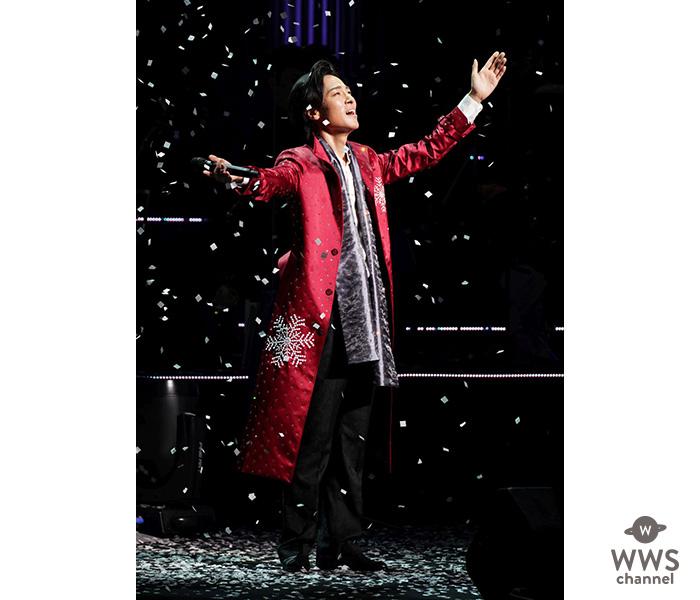 山内惠介 、5大都市ツアーファイナルを東京国際フォーラム・ホールAで 5000人を前に全29曲を熱唱!