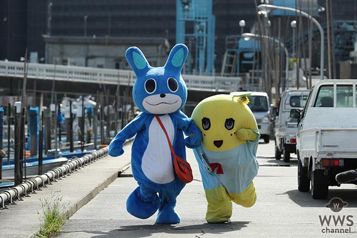 ふなっしー、JAGUAR、そして炎の妖精・がすたんが夢の共演!京葉ガスがwebムービー「この街をしあわせに」を10月26日より公開!!