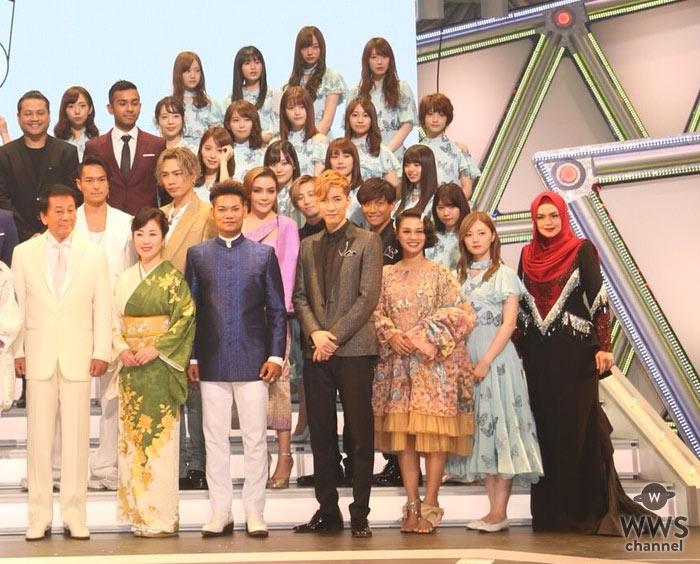 乃木坂46、関ジャニ∞、三代目 J Soul Brothers 今市隆二、登坂広臣ら登場!<第2回 日・ASEAN 音楽祭~平和の祈り~>