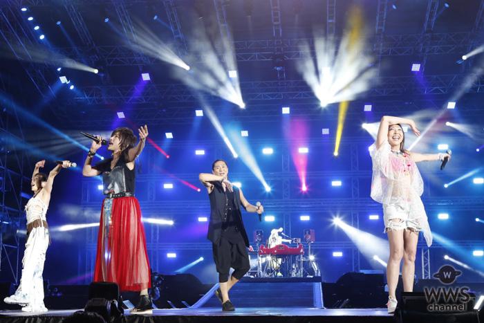 【ライブレポート】TRFが「a-nation」東京公演に出演!『EZ DO DANCE』『survival dAnce』を熱唱し、平成最後の夏を盛り上げる!