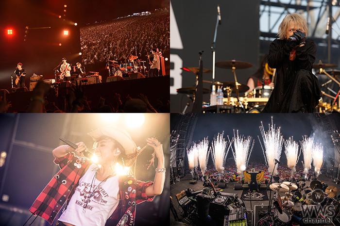 GYAO!にて『ROCK IN JAPAN FESTIVAL 2018』のWEB独占配信が決定!アジカン、HYDE、松任谷由実やマンウィズなど豪華アーティストが追加!!