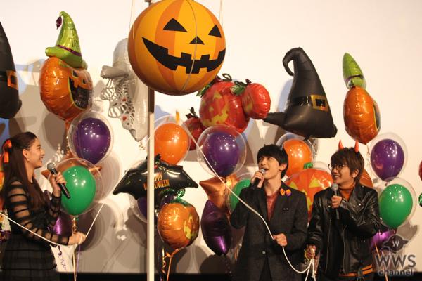 Nissy(AAA西島隆弘)が主題歌を歌う映画『あのコの、トリコ。』舞台挨拶に登場!