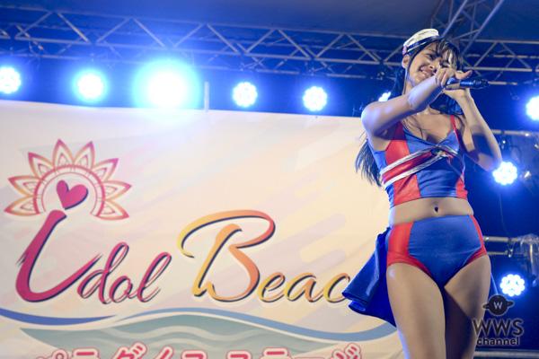 【ライブレポート】sherbetが「OISOアイドルビーチ2018」に出演!終わらない夏を連れてきた熱視線覚えたライブパフォーマンス!!<OISOアイドルビーチ2018>