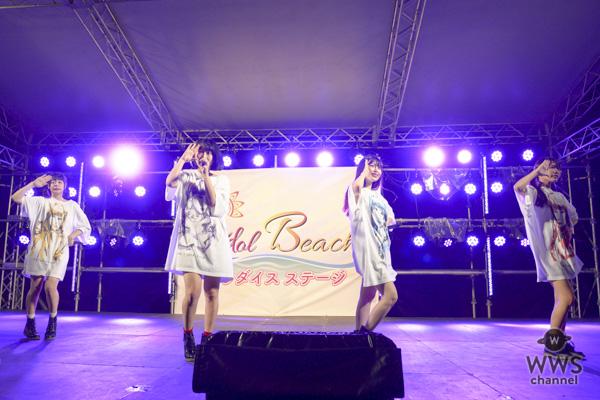 【ライブレポート】まねきケチャが「OISOアイドルビーチ2018」初日トリに登場! 蕩けそうなこの熱は、せんぶまねきケチャのせいだ!