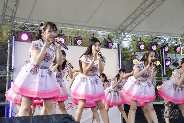 【ライブレポート】AKB48久保怜音、武藤小麟ら若手メンバーが「OISOアイドルビーチ2018 」に出演!海風のステージで『ポニーテールとシュシュ』『大声ダイヤモンド』を披露!<OISOアイドルビーチ2018>