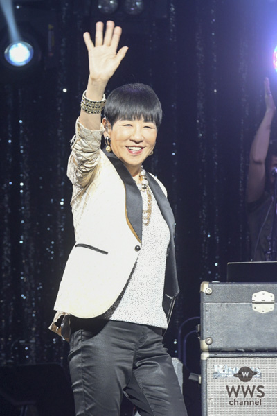 和田アキ子が「WADA FES」直前のリハーサルに登場!『古い日記』を颯爽と歌い上げる!