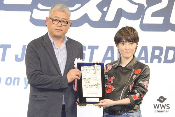 【更新】荻野目洋子が「第35回ベストジーニスト2018」を受賞!『ダンシング・ヒーロー』で喜びを体現!!