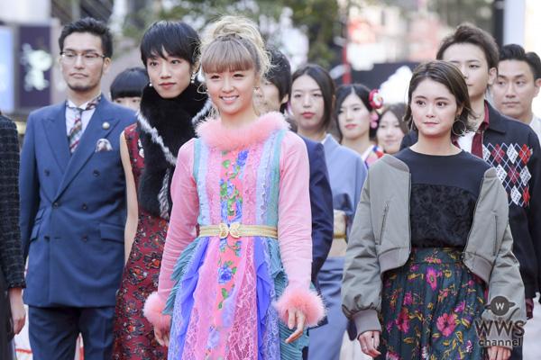 Dream Amiが「SHIBUYA RUNWAY」(渋谷ランウェイ)に登場!華麗にレッドカーペットをウォーキング!!