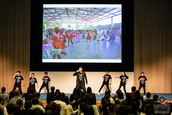 """EXILE ÜSA、国連WFP視察報告会で""""おいしい""""ダンス披露!「ダンスは世界共通言語」"""