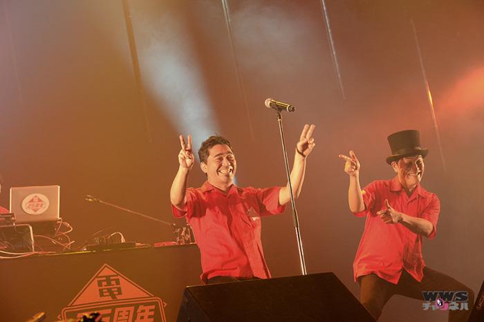 【ライブレポート】デビュー25周年を迎えた電気グルーヴが『シャングリラ』など披露!COUNTDOWN JAPAN 14/15