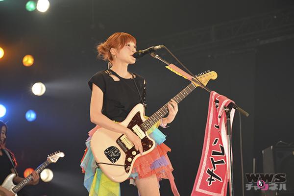 【ライブレポート】 注目のガールズバンド サイサイ(Silent Siren)が初登場!COUNTDOWN JAPAN 14/15