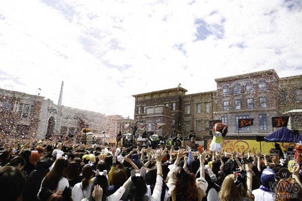 """USJとHYDEがスペシャルコラボしたハロウィーン・パーティ開催!""""こわかわ""""ミニオンとの競演に10,000人が大熱狂!"""