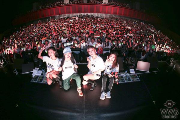 MAMAMOO、 初の日本ツアーが大盛況でFINAL!来年2月の再来日を発表!!