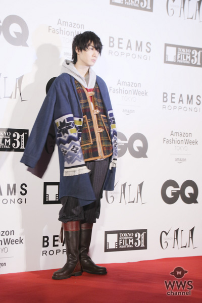 小関裕太、桜田通らがレッドカーペットをクールにランウェイ!<「第31回東京国際映画祭/FASHION GALA」>