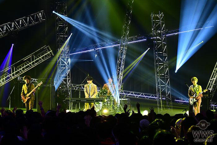 【ライブレポート】Official髭男dism・藤原聡、aikoとの共演に嬉しさ込み上げる!「最優秀邦楽新人アーティストビデオ賞」を受賞!!<VIDEO MUSIC AWARDS JAPAN 2018>