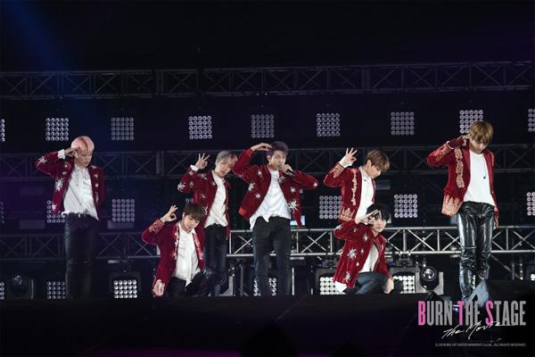 BTS初の映画『Burn the Stage:the Movie』全国上映館&前売券の発売決定!場面写真も初解禁!!