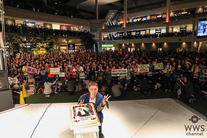 EXILE SHOKICHI、自身の誕生日に開催したリリースイベントでファンにソロツアーを宣言!