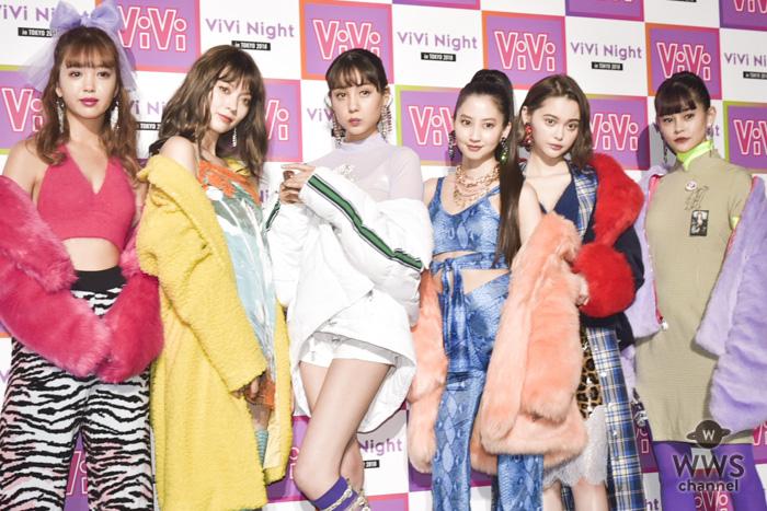 河北麻友子、藤田ニコルらが「ViVi Night in TOKYO 2018」出演前の囲み取材に登場!