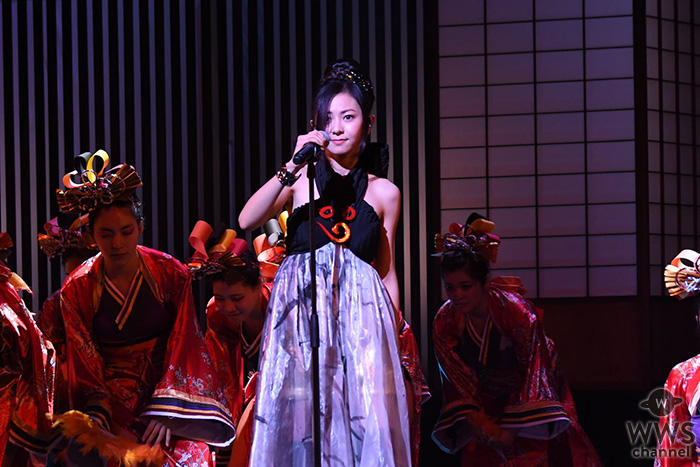 倉木麻衣、「KYOTO COLLECTION Vol.1」出演!総勢150名の地元ダンサー&エキストラと圧巻の豪華ステージ披露!!