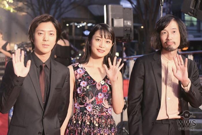 女優・深川麻衣が東京国際映画祭のレッドカーペットに登場!「緊張しながらも楽しく歩かせて頂きました」!