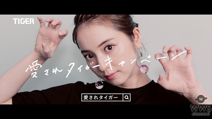 佐々木希のガオーポーズが可愛い!ステンレスボトルSAHARAの新CM公開!