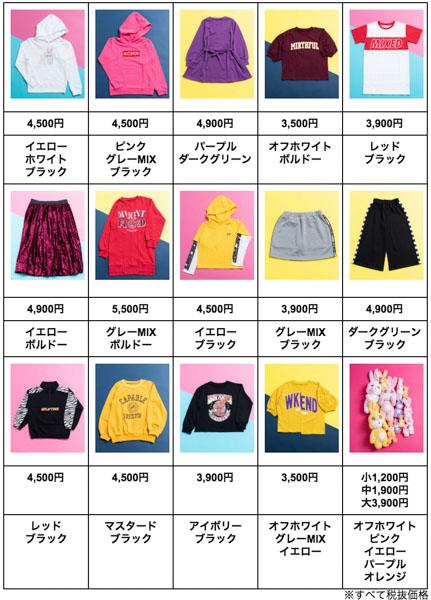 藤田ニコルプロデュース、JS・JC・JKに大人気ブランド「NiCORON」の限定コラボが発売!