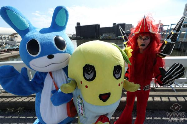 ふふなっしー、JAGUAR、そして炎の妖精・がすたんが夢の共演!京葉ガスがwebムービー「この街をしあわせに」を10月26日より公開!!なっしー、JAGUAR、そして炎の妖精・がすたんが夢の共演!京葉ガスがwebムービー「この街をしあわせに」を10月26日より公開!!
