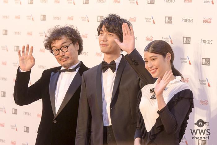 福士蒼汰、広瀬アリスが東京国際映画祭のレッドカーペットに登場!