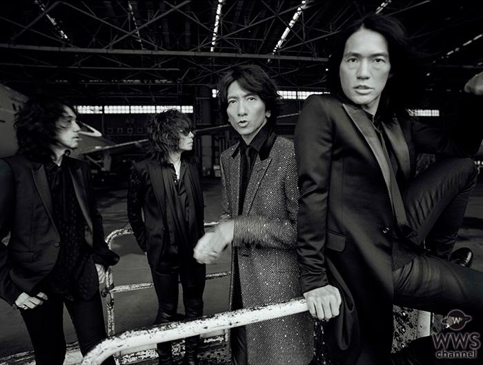 THE YELLOW MONKEYの新曲「天道虫」が、11月9日(金)に配信リリース決定!