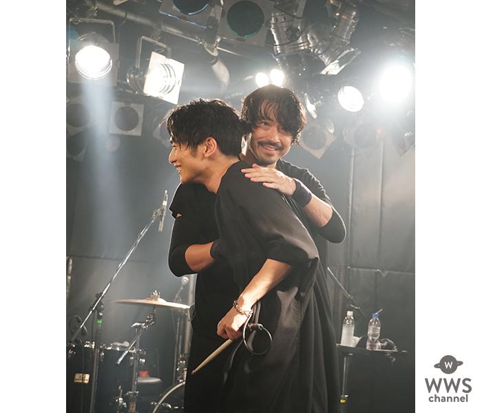 SKY-HI & 金子ノブアキ 圧倒的共演!SKY-HIライブハウスツアー「Round A Ground 2018」地方ファイナルに金子ノブアキがサプライズ出演!