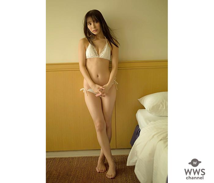 SUPER☆GiRLS・宮崎理奈、二度のオリンピックを経て健やかな肢体で魅せる1st写真集発売!